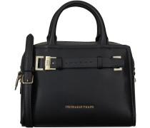 Schwarze Trussardi Jeans Handtasche 75B274