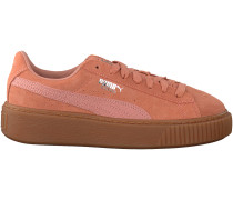 Rosa Puma Plateau Sneaker SUEDE PLATFORM ANIMAL