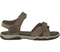 Taupe Timberland Sandalen OAK BLUFFS LEATHER 2 STRAP KID
