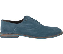 Blaue Blackstone Business Schuhe NM69