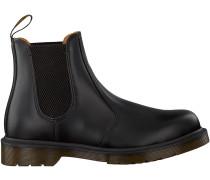 Schwarze Dr. Martens Chelsea Boots 2976