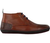 Cognac Floris van Bommel Ankle Boots 10989