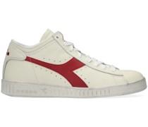 Sneaker High Game L Waxed Row Cut Weiß Damen
