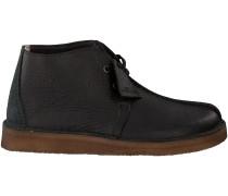 Schwarze Clarks Ankle Boots DESERT TREK HI