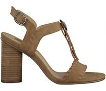 Camelfarbene Esprit Sandaletten 036EK1W040