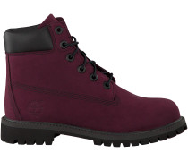 Rote Timberland Ankle Boots 6IN PREMIUM
