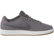 Graue Nike Sneaker COURT ROYALE SUEDE WMNS