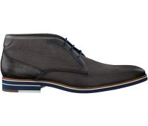 Graue Braend Business Schuhe 24508
