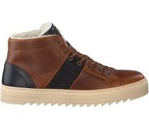 Cognac Bjorn Borg Sneaker BOB MID FUR M