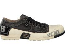 Schwarze Yellow Cab Sneaker Y12013