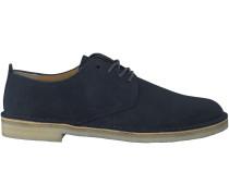 Blaue Clarks Boots DESERT LONDON