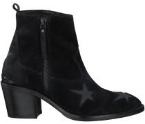 Schwarze Nubikk Stiefeletten mit Absatz FREDDY STARS