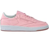 Rosa Reebok Sneaker CLUB C 85 FACE