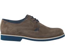 Taupe Omoda Business Schuhe 97002
