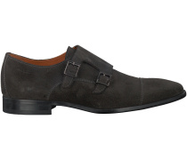 Graue Van Lier Business Schuhe 6006