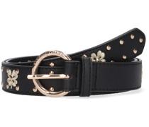 Gürtel Clover Studded Belt Schwarz Damen