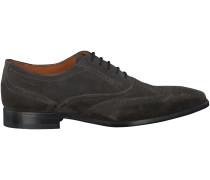 Graue Van Lier Business Schuhe 6008