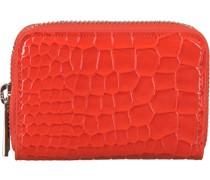 Portemonnaie Wallet Zipper Croco