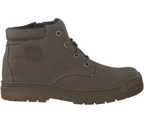 Taupe Timberland Boots RAMBLE WILD CANVAS