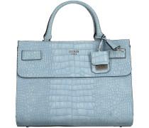 Blaue Guess Handtasche CATE SATCHEL