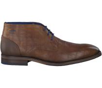 Cognac Braend Business Schuhe 424390