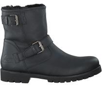 Schwarze Panama Jack Boots FAUST