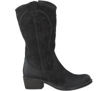 Schwarze Omoda Stiefel R13505