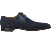 Blaue Magnanni Business Schuhe 19504