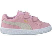 Rosa Puma Sneaker SUEDE 2 STRAPS