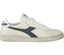 Diadora Heritage Sneaker Low Game L Low Waxed Weiß Herren