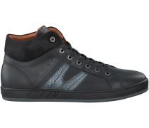Schwarze Van Lier Sneaker 7281