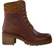 Braune Panama Jack Ankle Boots PHOEBE