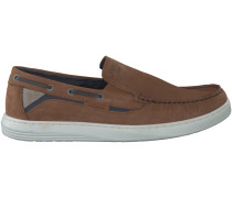 Cognac Mc Gregor Slipper DECK SLIP ON