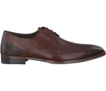 Braune Floris van Bommel Business Schuhe 14405