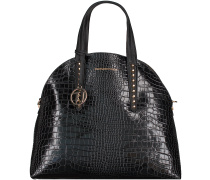 Schwarze Trussardi Jeans Handtasche 75B000