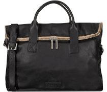 Schwarze Shabbies Handtasche 261123