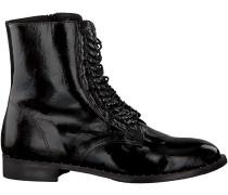 Schwarze Roberto d'Angelo Biker Boots 1802