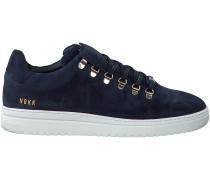 Blaue Nubikk Sneaker YEYE SUEDE MEN