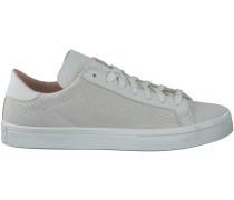 Weisse Adidas Sneaker COURTVANTAGE HEREN