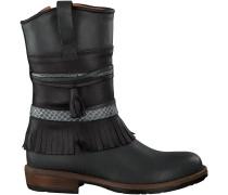 Schwarze Kanjers Stiefel 5228RP