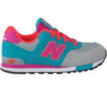 Graue New Balance Sneaker KV574