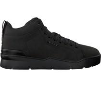 Bjorn Borg Sneaker High L250 Mid Nub Schwarz Herren