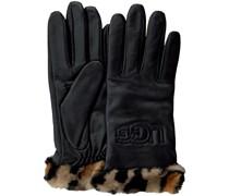 Handschuhe Cuff Logo Tech