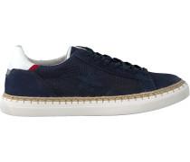 New Zealand Auckland Sneaker Taupo Ii Lizard Blau Herren