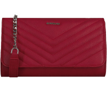 Rote Supertrash Umhängetasche BARCLAY QUILTED