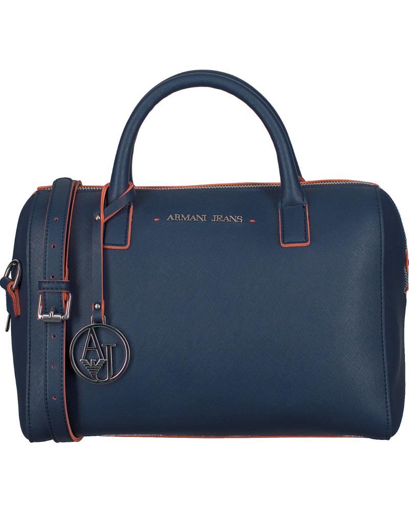 giorgio armani damen blaue armani handtasche 0524x reduziert. Black Bedroom Furniture Sets. Home Design Ideas