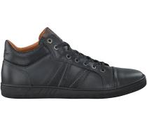 Schwarze Van Lier Business Schuhe 7305