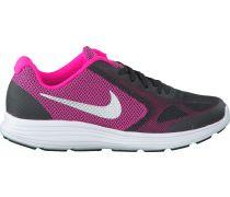 Schwarze Nike Sneaker REVOLUTION 3 KIDS