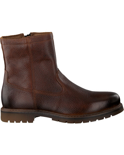 Cognacfarbene Omoda Ankle Boots 530068