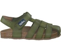 Grüne Kipling Sandalen FIDEL